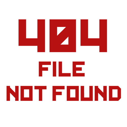 404 - file not found!