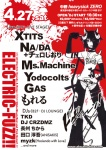 ELECTRIC-FUZZ!!: XTITS, Ms.Machine, NA/D...