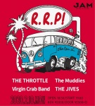 THE THROTTLE, Virgin Crab Band, THE JIVES, The Muddies