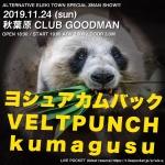 ヨシュアカムバック, VELTPUNCH, kumagusu