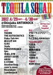 The autocratics, THORN, 中出し少年, cuns'n roses, PERSEVERANCE, more