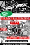 THE DEAD PAN SPEAKERS, BO!ROCK→1, PEST, BOYCOTTT SENTENCE