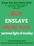 NOY, ENSLAVE, WRONG STATE, nervous light of sunday