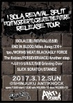 ISOLA (from Mie), REVIVAL (from Nagoya), PERSEVERANCE, END IN BLOOD, The Rabies, Tpo., more