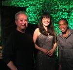 Yoshika Iwasaki (Vo) & Ken Morimura (P), Papo ( Perc)