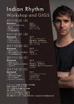 Indian Rhythm Workshop Series by Darren Moore