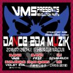 VM5, Violet Eva (Murasaki Baby Doll), Anano Woshiruko, Nakayubi, DJ Yamaguchi, MC Uemura