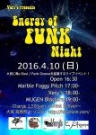 Energy of FUNK Night: MUGEN Blasters, Very's, Marble Foggy Pitch