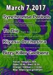 Synchronise Periods (Australia), To Die (Indonesia), Kiyasu Orchestra, Bizzy Killer Gedbenz