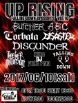 DISASTER, ANOTHER DIMENSION, BUTCHER ABC, CORBATA, DISGUNDER, FALLING DOWN