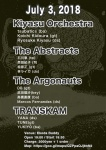 Kiyasu Orchestra, The Abstracts, The Argonauts, Transkam