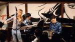 Naoki Kita Tango Trio (vln: Naoki Kita, bn: Satoshi Kitamura, pf: Yuhei Matunaga) @ IN VINO VERITAS