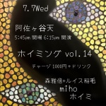 Hoiming vol. 14: Hoimi, miho, Masanobu Mori + Louis Inage