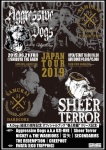 Sheer Terror, Aggressive Dogs, 雷矢, NICKEY & THE WARRIORS, SECONDARMS, THE REDEMPTION, CREEPOUT
