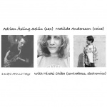 Matilda Andersson (voice), Adrian Åsling Sellius (sax), Hiroki Chiba (bass)