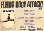 LITTERS, SUNDAY BLOODY SUNDAY, NAMASTE, THE NESO