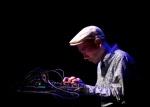 Toshimaru Nakamura (No Input Mixing Board), Ippei Katou (guitar, effect), Hiroki Chiba (bass, elec)