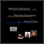 坂口光央 (synth, piano), 千葉広樹 (bass, electronics), 山本達久 (ds)