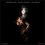 Francesca Han (piano), Koki Matsui (sax), Takashi Sugawa (contrabass)