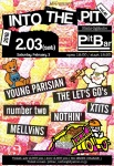 YOUNG  PARISIAN, THE LET'S GO's, XTITS, number two, MELLViNS, NOTHIN'