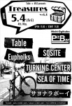Table, SOSITE, Eupholks, TURNING CENTER, SEA OF TIME, サヨナラボーイ