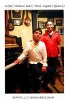 松井宏樹 (sax) & 魚返明未 (piano) with 本田珠也 (drums)