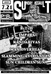 SLAMMING AVOID NUTS, KANDARIVAS, IMPARA, MAX OVERHEAT, BxTxW, SUN CHILDREN SUN