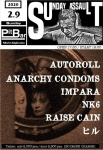 RAISE CAIN, AUTOROLL, NK6, ANARCHY CONDOMS, IMPARA, HIRU