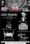 Little Bastards,  怒号(DOGOU),  XFAGO,  Mortify,  Military Shadow, kaltbruching acideath