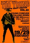 YOUNG FOREVER, FALLING DOWN, BLOCKHEAD, NO NO NO, WEIGHT, camus