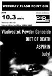 Vladivostok Powder Genocide, ASPIRIN, butyl, DIET OF DEATH