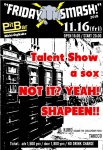 Talent Show,  a sox,  NOT IT? YEAH!,  SHAPEEN!!