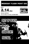 DIET OF DEATH, MxCxT, SHAPEEN!!, FASTALL