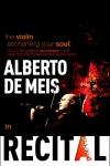 Alberto de Meis' Violin with Chef Mario Frittoli's Cuisine
