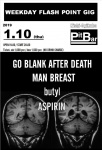 ASPIRIN, butyl, MAN BREAST, GO BLANK AFTER DEATH