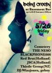 Red Brut (Holland), JSCA (Holland), Thistle Group (NZ), THE NESO, BLACKPHONE666, Cemetery