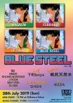 BLUE STEEL Vol. 8: DJs MMZK, SHUHEI, NORITAKE, J POON, MST-VRN, more