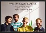 WAKO (Martin Olsen (sax), Kjetil Mulelid (pf), Bárður Poulsen (b), Simon Albertsen (ds))