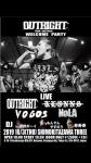 OUTRIGHT (Australia), VOGOS, NoLA, KLONNS, DJs 小野ボーイ (ono boy), もんでんやすのり (monden yasunori), 寿寿寿 (ju ju ju)