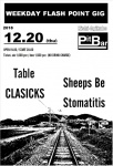 Table, Sheeps Be, CLASICKS, Stomatitis