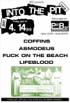 COFFINS, ASMODEUS, FUCK ON THE BEACH, LIFEBLOOD