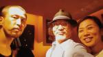 津上研太 (sax) ,栗田妙子 (piano), 安東昇 (contrabass)