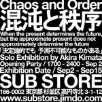 CHAOS & ORDER exhibition & DJ by Akira Kimata