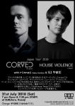 CORVEC (France) X House Violence (Japan)