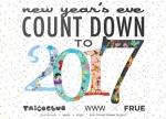 NYE COUNTDOWN TO 2017