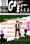 THE REDEMPTION, CABALLERO POLKERS, LOS TEQUILA COKES, BALLADMEN, Tadpole Splash