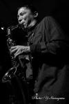 松井宏樹 (sax), Marty Holoubek (bass), Joe Talia (ds)
