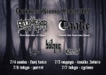 DARKNESS RISING FEAST 2019: BELPHEGOR, TAAKE, BÖLZER, AME NOIRE, CHRIST DISMEMBERED