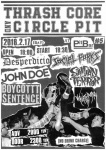 Desperdicio, SAIGAN TERROR, JOHN DOE, BOYCOTTT SENTENCE, While The City Burns