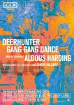 Deerhunter, Gang Gang Dance and ALDOUS HARDING